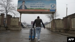 An Afghan refugee who was deported from Germany at Kabul airport last month