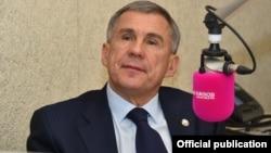 Рустам Минниханов, Татарстан президенті.