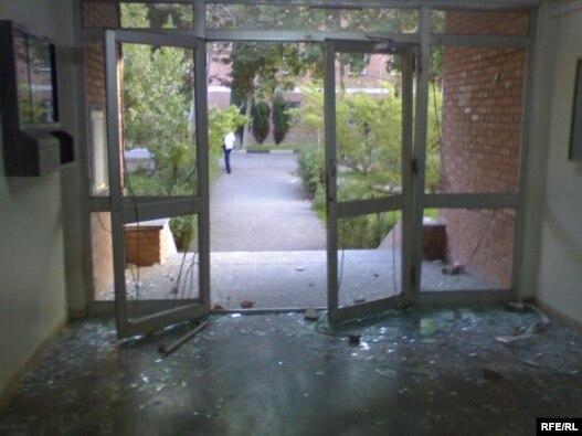 کوی دانشگاه تهران، یک روز پس از حمله لباسشخصیها