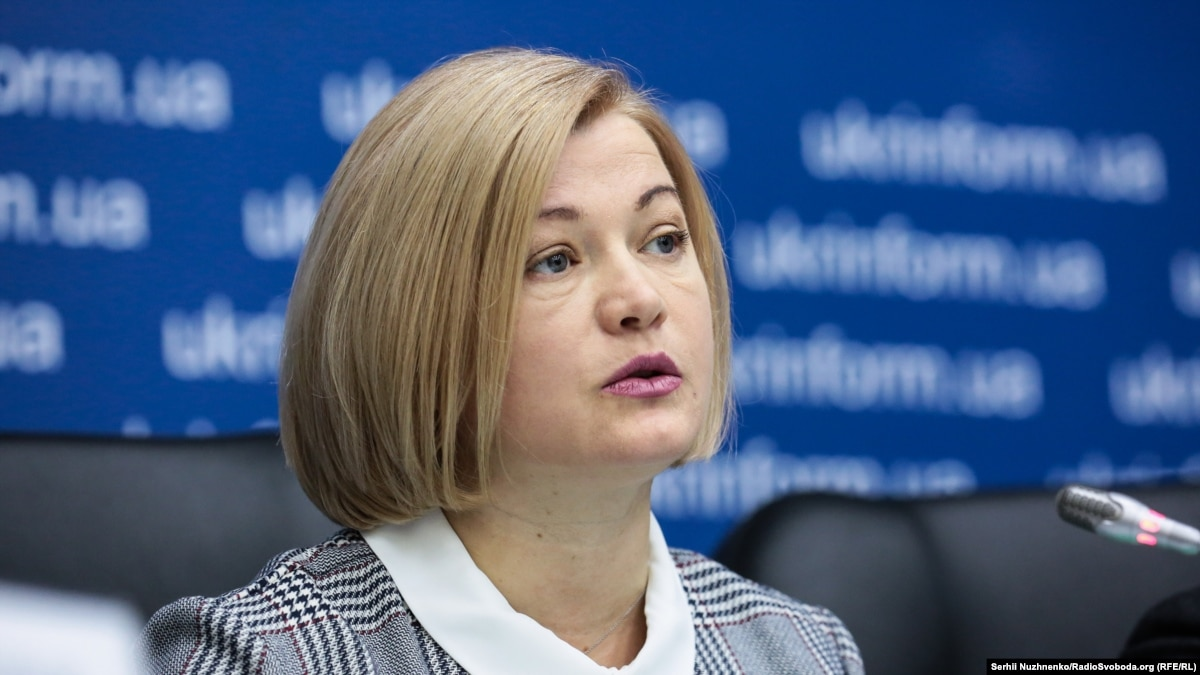 Действия полиции в Киеве были неадекватными – первый вице-спикер Рады Геращенко