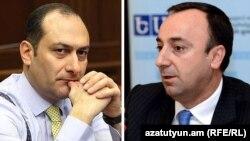 Артак Зейналян (слева) и Грайр Товмасян
