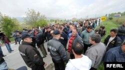 Протести на млекопроизводителите во Битола