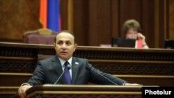 Спикер Национального Собрания Армении Овик Абрамян