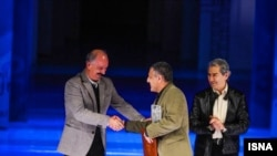 سعید راد در مراسم افتتاحیه جشنواره فیلم فجر