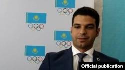 Менеджер бразильской Академии футбола «Крузейро» Сильвейра Педро. Алматы, 19 марта 2015 года.