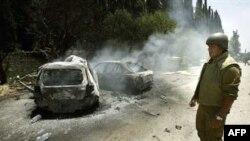 ВВС Израиля нанесли в воскресенье вечером удар с воздуха по пусковым установкам в районе ливанской деревни Кана