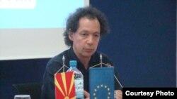Маршал Маркус, извршен директор на Младинскиот оркестар на ЕУ.