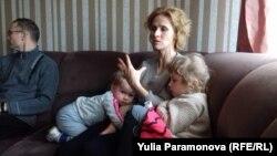 Марина Черемисина с детьми