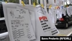 Montenegrin Underwear Protest