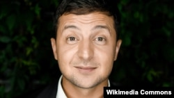Actor and comedian Volodymyr Zelenskyy