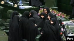 Iranian Nader Ghazipur's controversial comments came just as it seemed likely that a record number of of women would gain seats in parliament following elections on February 26.