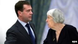 Людмила Алексеева обратилась к президенту России