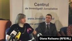 Imagine de arhivă. Viorel Morari la o ședință a Clubului Jurnaliștilor de Investigație