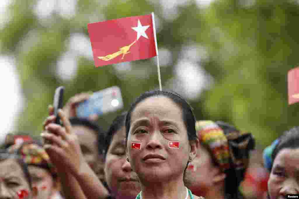 Основний кандидат у президенти – Су Чжи – 1990 року отримала Нобелівську премію миру