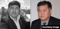 Бектур Асанова и Кубанычбек Кадыров.
