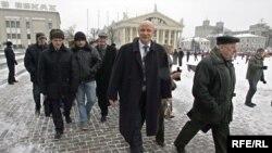 Кандидат в президенты Белоруссии Александр Козулин