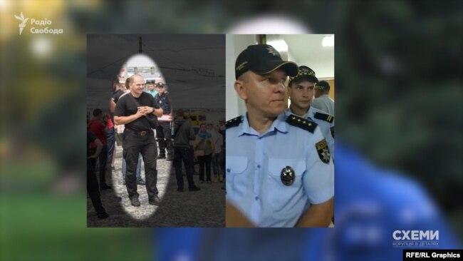 Цього співробітника варти Артем Романюков одразу впізнав, адже він був серед тих, хто не пускав активістів на сесію міськради