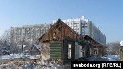 Знос дамоў на вуліцы Барыкіна