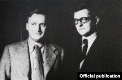 Yehudi cu Dmitri Șostakovici în 1945 la Moscova (Foto: The Menuhin Century/Warner)
