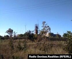 Шахта на оккупированной территории, близ украинско-российской границы, сентябрь 2019 года