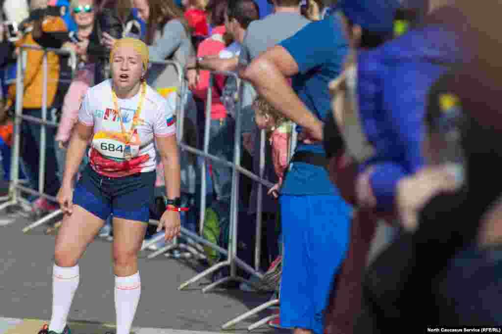 Не все оказались готовы выдержать всю дистанцию марафона