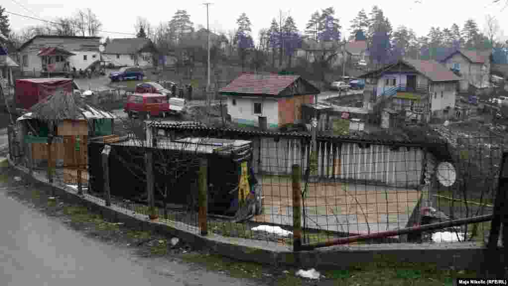 The village of Svatovci is inhabited by Bosnian Roma, who often suffer from poverty and discrimination.