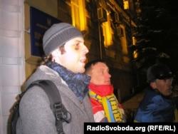 Дмитро Грищенко, постраждалий від дій «тітушок»