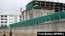 Afghanistan -- Kabul - the Russian Cultural Center that's being built. 28 March 2014