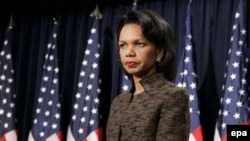 کاندولیزا رایس وزیر امور خارجه آمریکا گفت «ما نه برنامه و نه قصد حمله به ايران را نداريم»