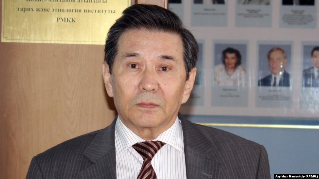 Qaydar Aldajwmanov - tarihşı, Şoqan Uälihanov atındağı tarih jäne etnologiya institutınıñ qızmetkeri. Almatı, 22 säuir 2014 jıl.