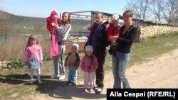 Mame cu copii, la Tarasova