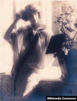 Леў Дашкевіч. Партрэт жонкі. Эрывань, 1912-1913 гг.