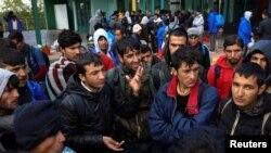 Migranti na mađarsko-srpskoj granici