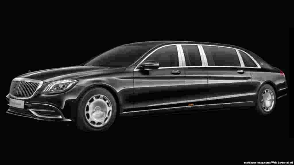 Mercedes-Benz S 600 Pullman Guard– такі аўтамабіль з «прэзыдэнцкім» нумарам 001 BY карэспандэнт «Камсамольскай праўды» сфатаграфаваў ля менскага стадыёна «Дынама» падчас закрыцьця Эўрапейскіх гульняў у 2019 г. Такое аўто браняванае з усіх бакоў, у тым ліку зьнізу, і можа вытрымаць расстрэл ва ўпор са штурмавой вінтоўкі. Раней Аляксандра Лукашэнку бачылі на розных аўтамабілях, у тым ліку на папярэдняй мадэлі Maybach Pullman Guard, якая каштуе ад 690 тысячаў эўра.