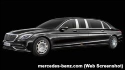 Mercedes-Maybach Pullman Guard