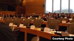 لجنة حقوق الإنسان في البرلمان الأوروبي في جلسة إستماع خاصة لبحث أوضاع المسيحيين العراقيين.