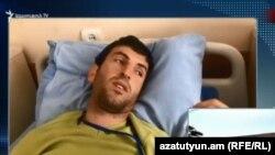 Тірайр Мурадян у лікарні, Єреван, Вірменія, 19 квітня 2018 року