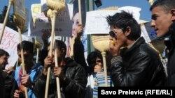 Jedan od protesta u regiji za bolji položaj Roma