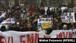 Сараево - од протестите за ослободување на Јован Дивјак
