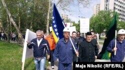 Prvomajski protesti radnika u BiH