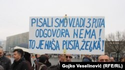 Protest radnika Kosmosa