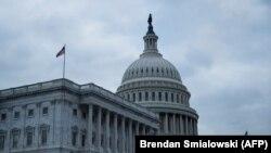 نمایی از کاخ کنگره آمریکا
