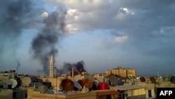 Дамаск, 15 красавіка 2012