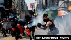 Гонконгдогу каршылык акцияларынын жаңы толкуну.