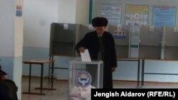 Выборы в местный кенеш. Кыргызстан. Иллюстративное фото.