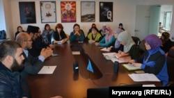 Крым, заседание объединения «Крымская солидарность», 29 октября 2016 года
