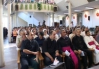 Christians in a Baghdad church