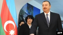 Ilham Aliyev, seen above casting his ballot in the capital, Baku, could be eligible for unlimited runs at the presidency starting in 2013, after his current five-year term ends.