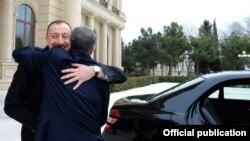 Президенты Азербайджана и Кыргызстана в Баку, 30 марта 2012