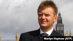 Александр Литвиненко. Лондон, 14 қыркүйек 2004 жыл.